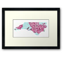 Lilly Inspired Pi Phi - NC Framed Print