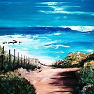 "Mornington Peninsula Beach by Belinda ""BillyLee"" NYE (Printmaker)"
