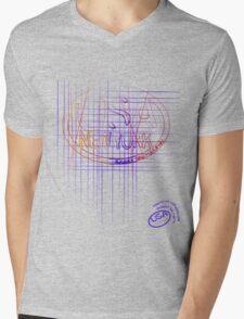 usa new york tshirt by rogers bros co Mens V-Neck T-Shirt