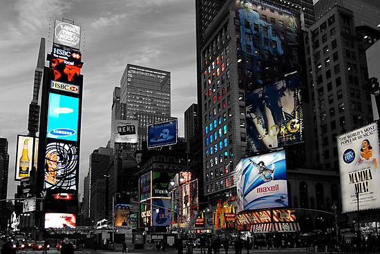 Time Square by Thomas Stroehle