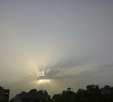 sun rays by rajatsharma