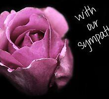 Sympathy Rose by Caroline Hannessen