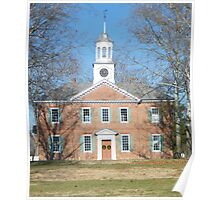 1767 Chowan County Courthouse Poster