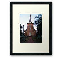 St Paul's Episcopal Church, Edenton,NC Framed Print