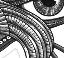 Eye of Horus (Tattoo Style Tee) Sticker