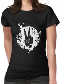 V for victory design color 2 Womens Fitted T-Shirt
