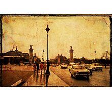 Paris Street 3 - 1968 Photographic Print