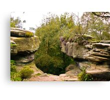 Brimham Rocks Canvas Print