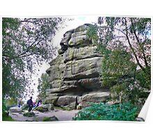 Brimham Rocks Poster
