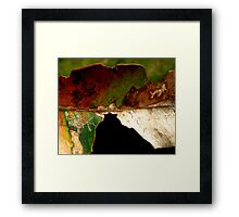 Leaf... Framed Print