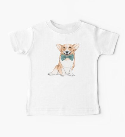 Corgi Dog Baby Tee