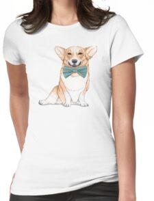 Corgi Dog Womens Fitted T-Shirt