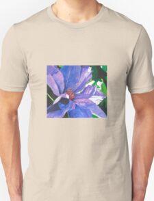 Big Blue Clematis T-Shirt