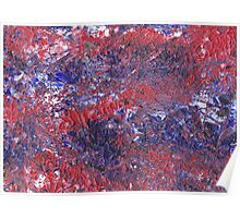 textured abstract Poster