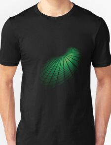 Abstract green sphere Unisex T-Shirt