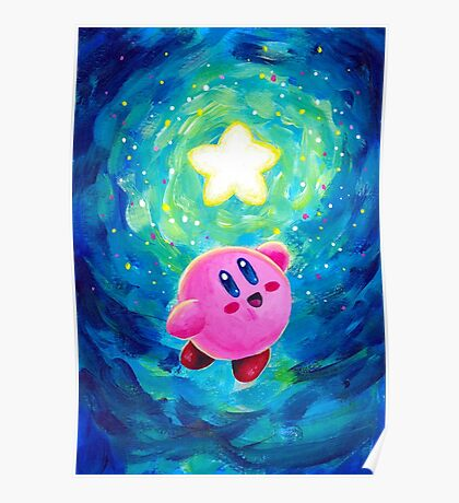 Kirby Star Poster