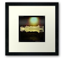 Dreaming time is Devine. Framed Print