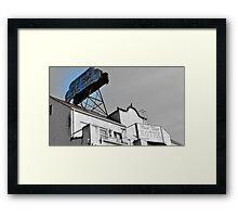 The Twain Hotel editted Framed Print