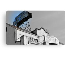 The Twain Hotel editted Canvas Print