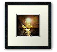 Just keep on dreaming Framed Print