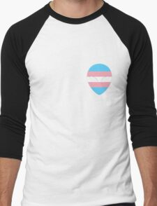 Transgender Alien Men's Baseball ¾ T-Shirt