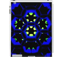 Blue Octagon iPad Case/Skin