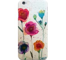 Taylor Swift - Watercolor Flowers iPhone Case/Skin