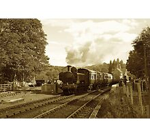 5764 leaving Arley Photographic Print