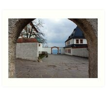 Welcome to Castle Augustusburg Art Print