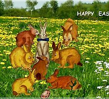 Happy Easter for Kids by Marie Luise  Strohmenger