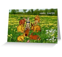 Happy Easter for Kids Greeting Card