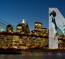 NY Panorama by Thomas Stroehle