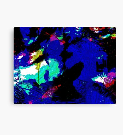 Complex Abstract Canvas Print