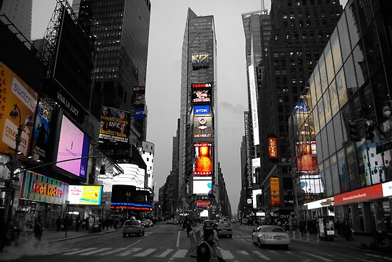Time Square color key by Thomas Stroehle