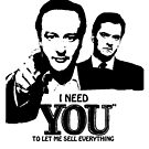 David Needs YOU by GraphicMonkey