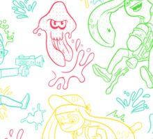 Squid Wars Sticker
