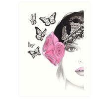 Butterfly Belle Art Print