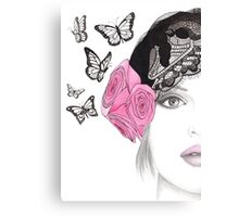 Butterfly Belle Canvas Print
