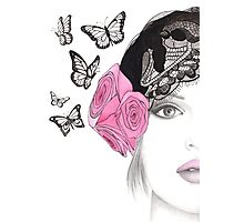 Butterfly Belle Photographic Print