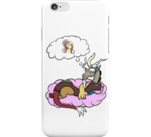 Discord dreaming about fluttershy  iPhone Case/Skin