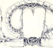 art nouveau gateway by terezadelpilar~ art & architecture