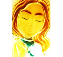 Mary all aglow Photographic Print