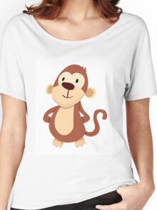 Monkey Women's Relaxed Fit T-Shirt