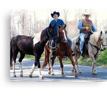 Carolina Cowboys Canvas Print