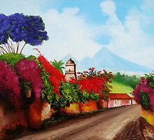 A Road in Antigua by Dominica Alcantara