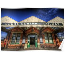 Great Central Railway - Loughborough Station Poster