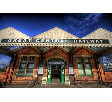 Great Central Railway - Loughborough Station Photographic Print