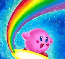 Kirby Rainbow by Katie Clark