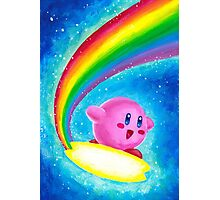 Kirby Rainbow Photographic Print