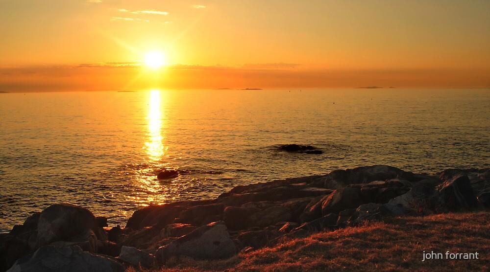 Sunrise: Salem Willows by john forrant